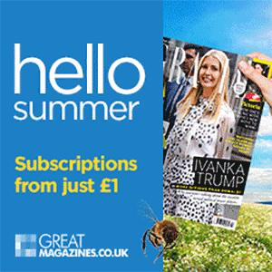 Try out a new magazine subscription from as little as £1.