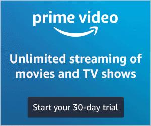 This Prime Day get a 30 day free trial of Prime Video!