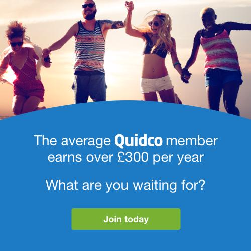 Join Quidco and get cashback on your purchases
