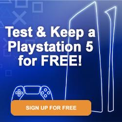 Test & Keep a Sony Playstation 5 at Launch for FREE