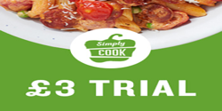 SimplyCook - Try 4 meals for just £3 today